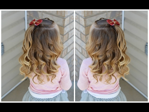 How To Curl Toddler Hair