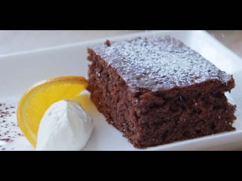 Easy Chocolate Cake Recipe | Tray Bake
