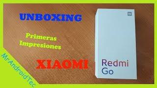 unboxing y primeras impresiones del xiaomi redmi go México