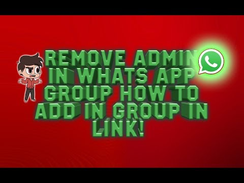 whatsaap group admin removed you! (how to add in removed group) ।। in hindi।।