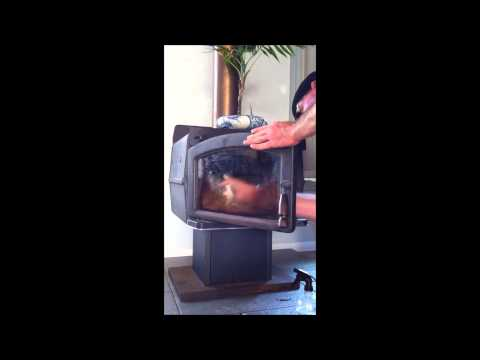 How To Clean Your Fireplace And Oven Glass Door Quickly