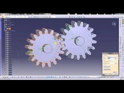 Catia Tutorials How to make Spur gear profile in catia using parameters and formulae