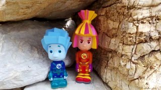 Download Фиксики изучают руины древнего замка. Симка и Нолик отправляю Video