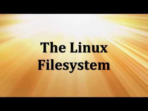 The Linux Filesystem