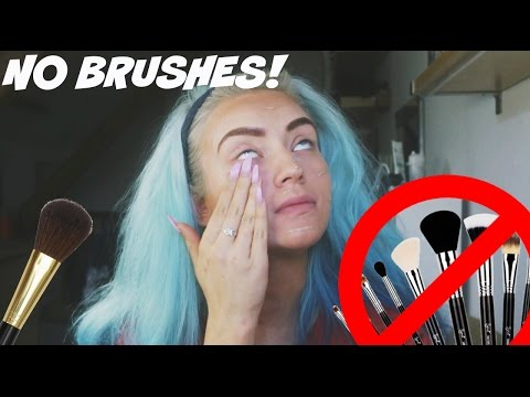 FULL FACE USING ONLY MY FINGERS - NO BRUSHES! | Naomi