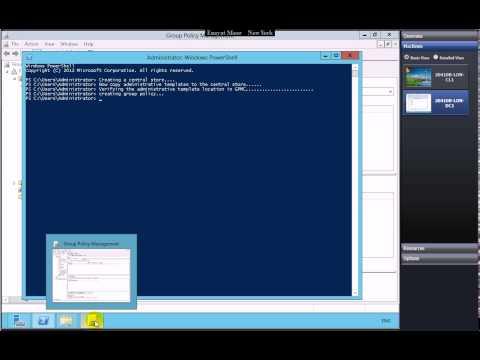 Implementing Group Policy using Server 2012R2 by Enayat Meer