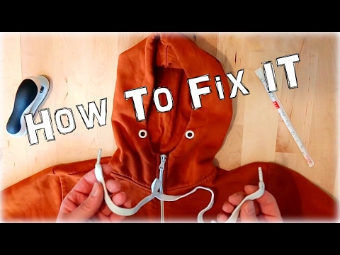 How to Fix your Hoodie - Lifehack