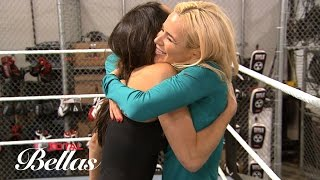 Brie and Lana train at the WWE Performance Center: Total Bellas Preview Clip, Oct. 12, 2016