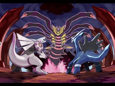 Pokemon SoulSilver: How to get the legendary pokemon Dialga, Palkia, and Giratina