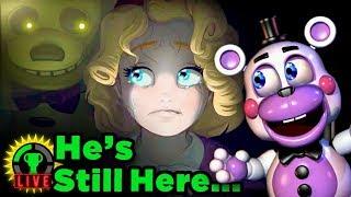 Secret Springtrap in FNAF 6 REVEALED! | Five Nights at Freddy