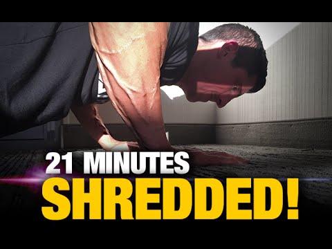 Home Fat Burning Workout (21 MINUTE KILLER!)