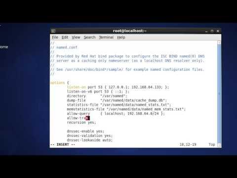 Setup DNS Server step by step in CentOS