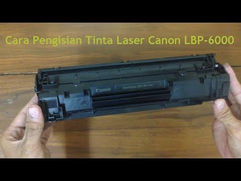 Cara Mengisi Tinta Print Laser Toner atau serbuk Canon LBP-6000