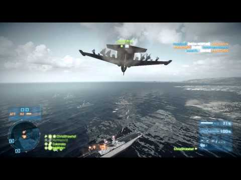 BF3 - Dogfighting (a relaxing day in the skies)