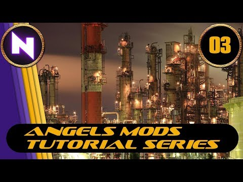 Factorio 0.16 - Angels Mods Tutorial Lets Play #3 TIN & LEAD REFINING