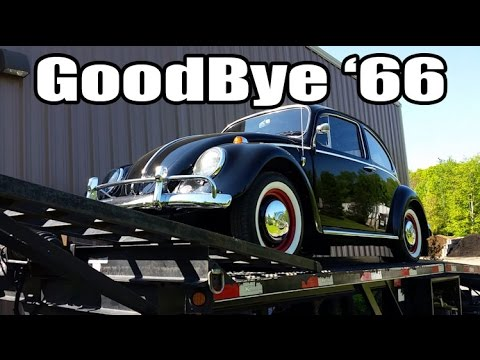 Classic VW BuGs Saying goodbye to another Beetle 1966 Black Sedan Consignment Sale