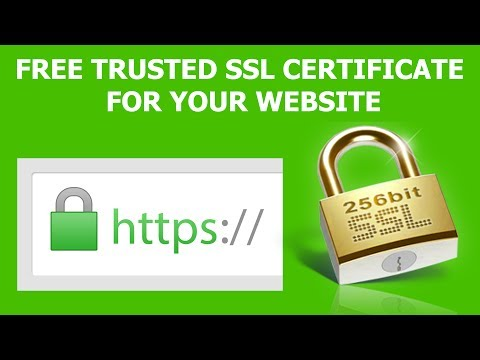 How to get SSL For Free -  Trusted SSL certificate for your website