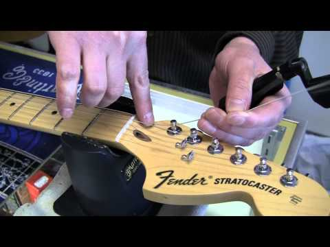 Restringing an Electric Guitar