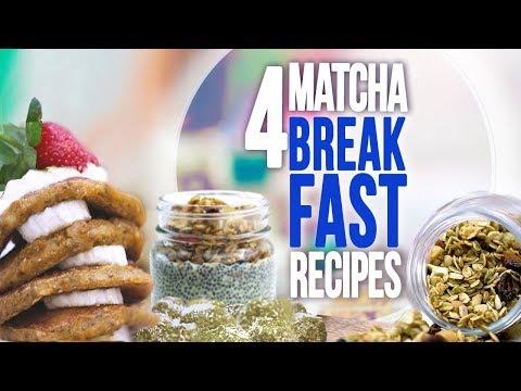 4 Weight Loss Breakfast Recipes with Matcha | Joanna Soh