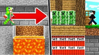 BEST MINECRAFT TRAPS TO TROLL YOUR FRIENDS! (Minecraft Trolling)