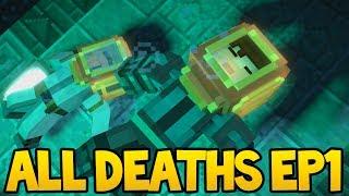 Minecraft Story Mode: Season 2 - ALL DEATH SCENES! - Episode 1