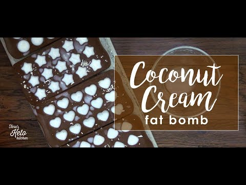 How To Make Fat Bombs: Coconut Cream Fat Bombs (Easy)