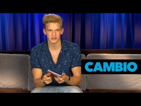 Cody Simpson Tells All...Including His Celebrity Crush! | Cambio Couch Sesh