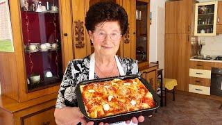 Pasta Grannies share Nonna Igea's timballo from Abruzzo