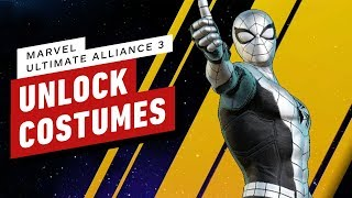Download How to Easily Unlock Marvel Ultimate Alliance 3 Costumes and Hidden Characters Video