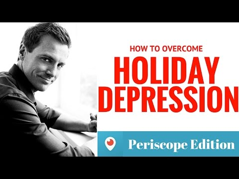 How to overcome Holiday Depression