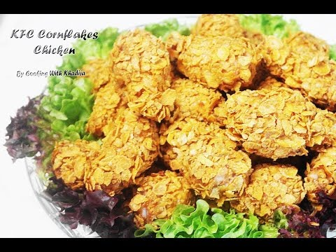 KFC Corn Flakes Chicken legs - KFC Corn Flakes Borrel Kippenpootjes