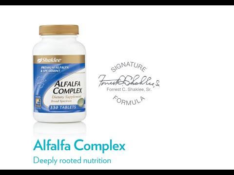 Alfalfa Tabs from Shaklee aka Alfalfa Complex