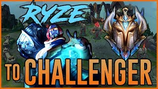 CHALLENGER RYZE - HIGHWAY to CHALLENGER - Ep. 24 - League of Legends Full Game Commentary