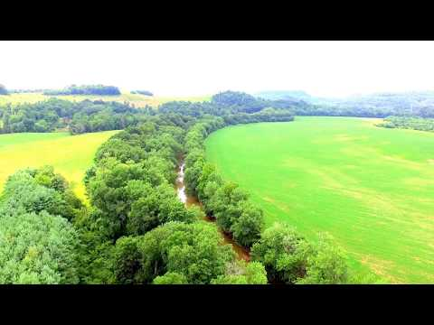 Land For Sale On Wills Creek 19 ac with Green Barn and Free Gas and Adjacent 19 Ac