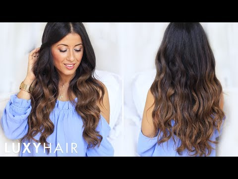 My Go-To Hair Waves | How To Curl Your Hair Tutorial | Luxy Hair