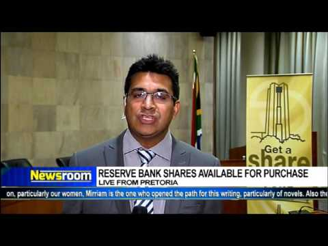 SA Reserve bank will this Thursday announce shares available to buy
