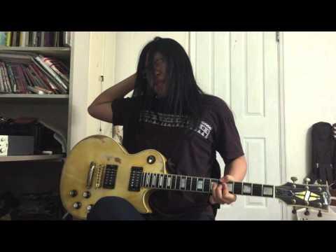 S.R.V - Texas Flood cover with Gibson Les Paul Custom 1979