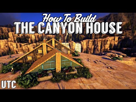 Triple A-Frame House :: Ark Building Tutorial (No Mods) :: How To Build A Ragnarok Canyon House