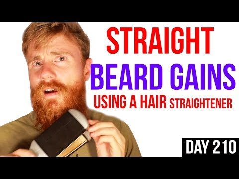 HAIR STRAIGHTENER for Curly BEARDS | HOW TO USE IT