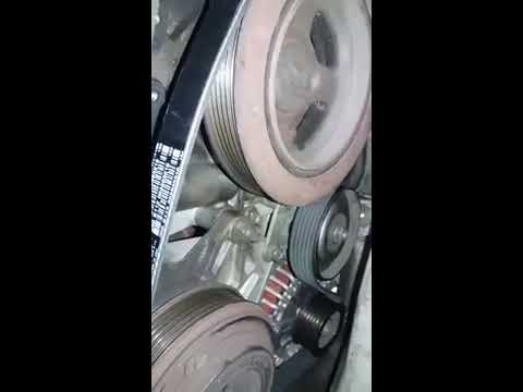 6th Gen Nissan Maxima AC/Alternator Belt Change