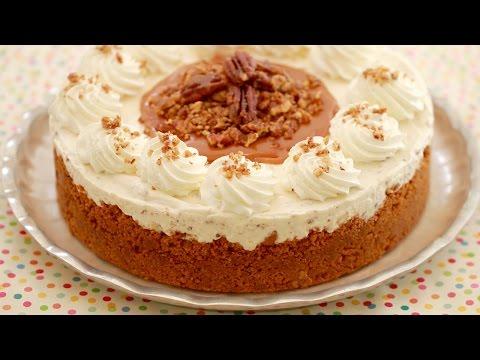 Butter Pecan Ice Cream Cake (Homemade No Machine Ice Cream) - Gemma's Bigger Bolder Baking Ep  97