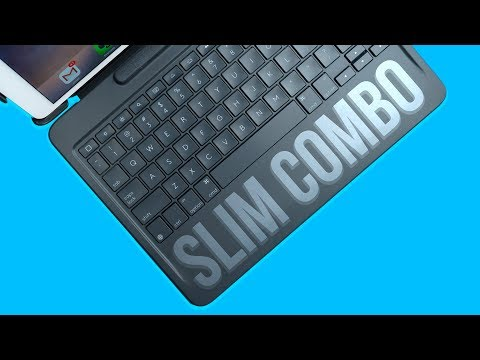 Logitech Slim Combo Keyboard Case for 12.9