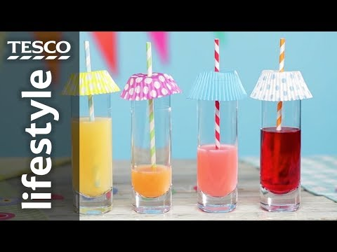Keep bugs out of summer drinks | Tesco
