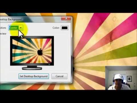 How To Change Your Desktop Background In Windows 7