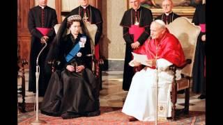 queen elizabeth ii meet the popes