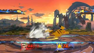 Luigi vs. Pikachu: Stage Spike