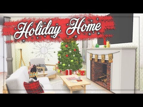 The Sims 4: Let's Deco // Holiday Home #22 + CC LIST