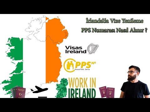 İrlanda Vizesi | İrlanda'da Vize Yenilemek |İrlanda'da Çalışmak | Ireland PPS Number