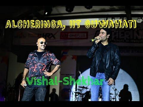 Vishal Shekhar Song @ Alcheringa 2018 IIT Guwahati | Pro Night Show