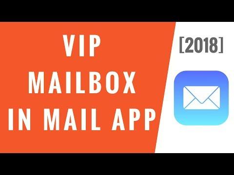VIP Mailbox on iPhone! [2018]